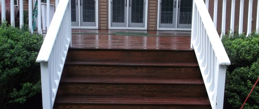 Pressure washing deck cleaning Vineland NJ