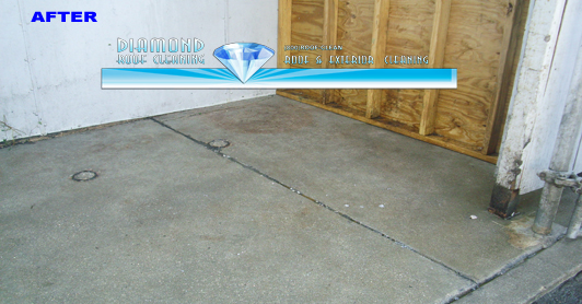Dumpster Pad Cleaning Diamond Roof Cleaning