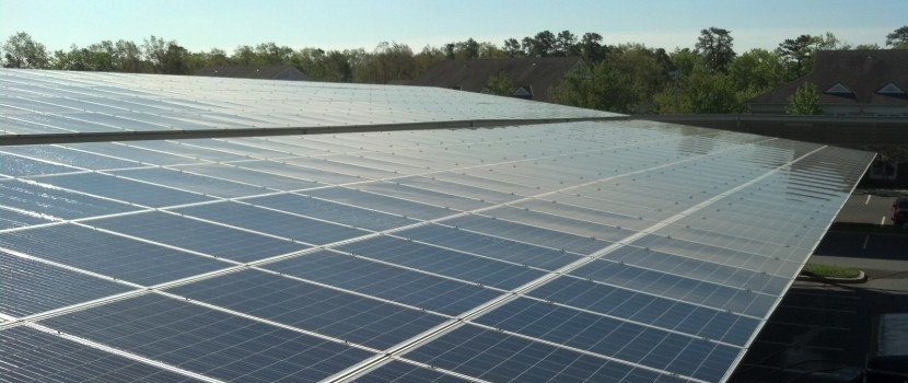 how to clean your roof solar panels