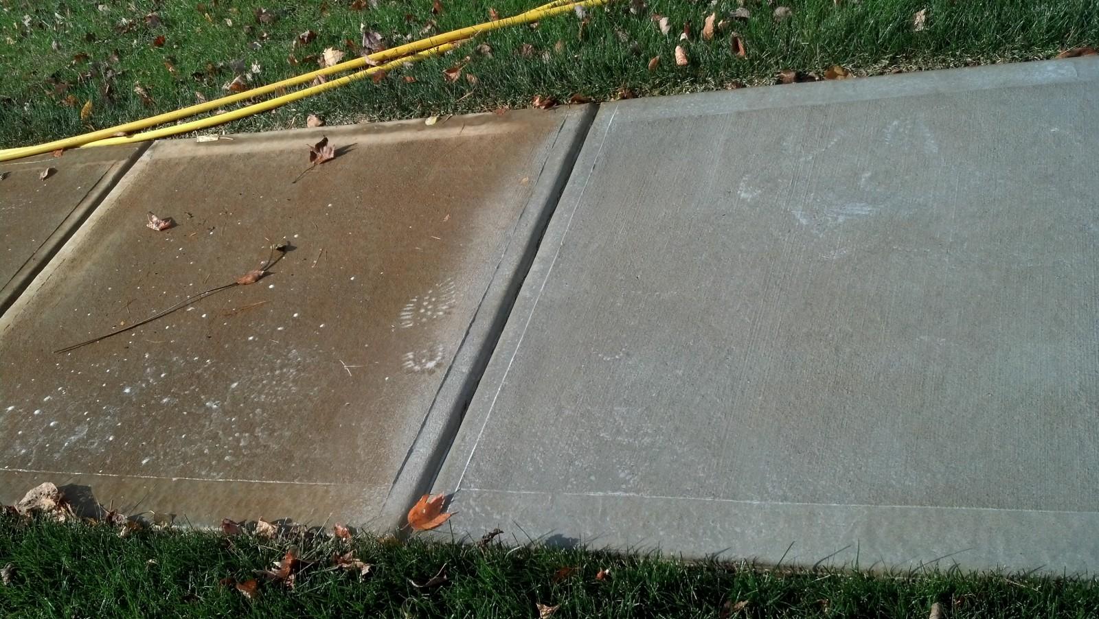 Concrete power washing nj pressure washing concrete nj for Cement pressure washer