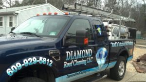 Diamond power washing