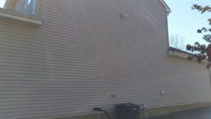 Soft Wash siding cleaning no pressure/ power washing involved in Vineland NJ