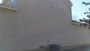 Soft Wash siding cleaning no pressure/ power washing involved in Vineland NJ